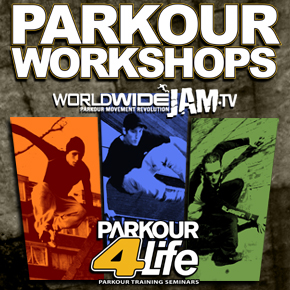 Pic of Worldwide JAM Parkour Banner