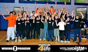 Link to Larger image of the WOKING 1 Parkour Workshop