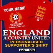 Link to England Supporter Shirts
