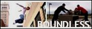 Banner and link to the parkour and freerunning website of the boundless crew