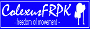 Banner and link to the parkour and freerunning website of the colexus freerunning pk crew