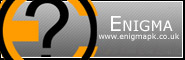Banner and link to the parkour and freerunning website of the Enigma crew