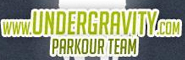 Banner and link to the parkour and freerunning website of the Undergravity Parkour Team