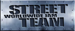 Logo for Worldwide JAM Street Team